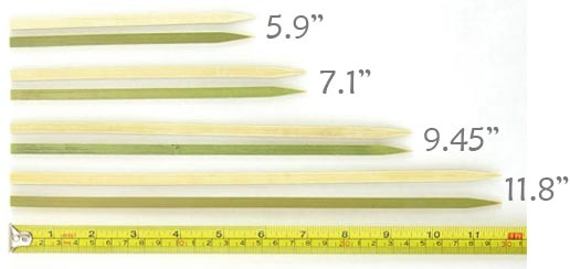 Flat Stick Skewers