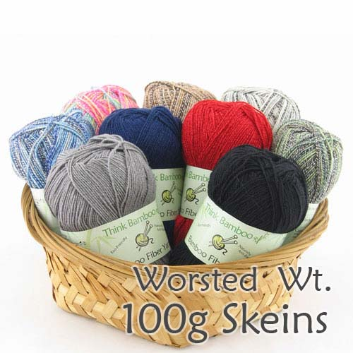 Soft and Slim Bamboo Wool Blend  - 916 - Medium worsted weight