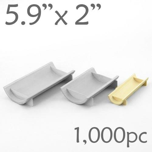 Half-Pipe Dish / Plate -Small - 5.9 x 2 - 1000pc
