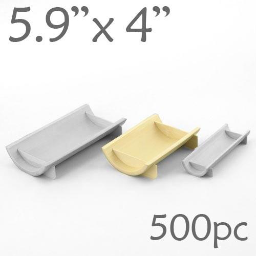 Half-Pipe Dish / Plate - Medium - 5.9 x 4 - 500pc