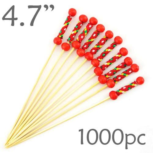 String Picks - 4.7- Red - Box of 1000 pc