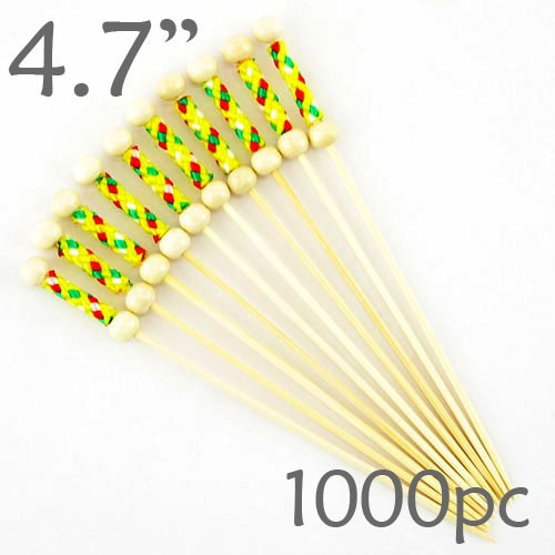 String Picks - 4.7- Yellow - Box of 1000 pc