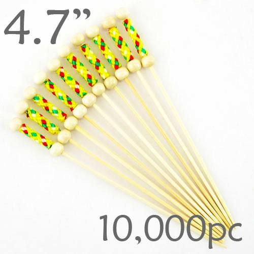 String Picks - 4.7- Yellow - Case of 10,000 pc