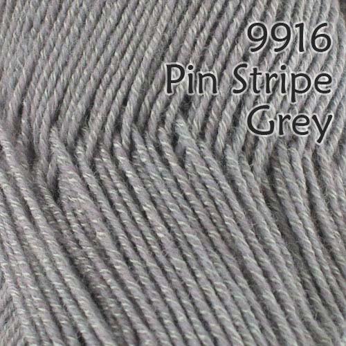 9916 - Pin Stripe Grey - Style 916 - 2 x 100g