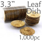 Thermo-Pressed Leaf Dish - Shallow -1000 pc.