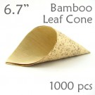 "Bamboo Leaf Cone 6.7"" -1000 pc."