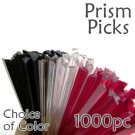 "Triangle Prism Skewer - Choose a Color - 3.5"" Long 1000 pcs"