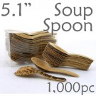 Thermo-Pressed Leaf Chinese Soup Spoon -1000 pc.