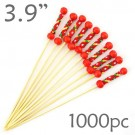 String Picks - 3.9- Red - Box of 1000 pc