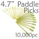Bamboo Paddle Picks 4.7 - Green - case of 10,000 Pieces