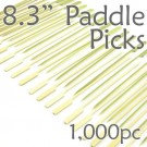 Bamboo Paddle Picks 8.3 - Green - box of 1000 Pieces