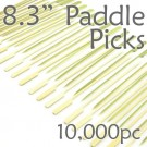 Bamboo Paddle Picks 8.3 - Green - case of 10,000 Pieces
