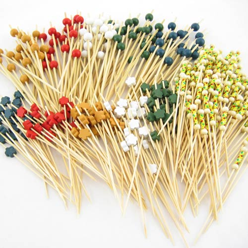 ball end cocktail picks