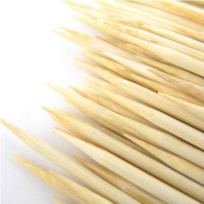plain bamboo skewers