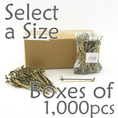 Boxes of 1000 pcs (Select a Size- Black)